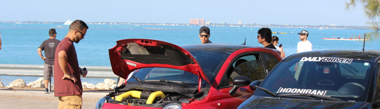 Cars and Coffee Key Biscayne